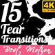 15 Tear Transitions