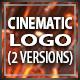 Cinematic Crystal Logo Reveal