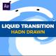 Hand Drawn Liquid Transition