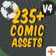 Comic FX / Speech Bubbles Graphic Pack
