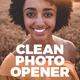 Clean Photo Logo Opener