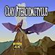 Clay Pterodactilus