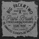 Paint Brush Elements+Transition (Pack2)