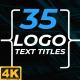 Logo Text Titles 4K