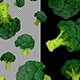 3D Objects In The Form Of Broccoli