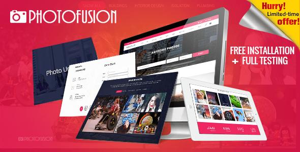 , Photo Fusion – Free Stock Photos Script, Laravel & VueJs, Laravel & VueJs