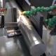 Modern Machine Saw. Cutting Metal Modern Processing Technology