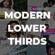 Modern Lower Thirds Pack