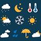 16 Weather Icons