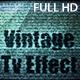 Vintage TV Effect
