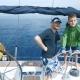 Caucasian Family Group Luxury Lifestyle Yacht Tourism Travel Health Insurance