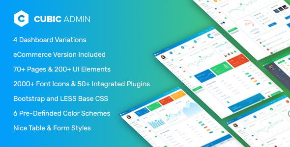 , Cubic – Laravel Admin Framework with CRUD builder, Log Viewer, Laravel & VueJs