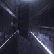 Vj Loop Digital Neon Tunnel