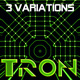 TRON patterns in HD (3 variations)