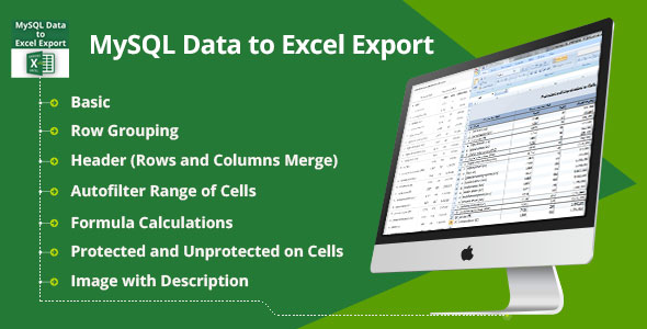MySQL Data to Excel Export - PHP Script Download 1