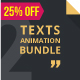 Texts Animation Bundle Pack 2
