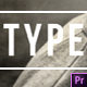 Big Type Lower Thirds - Premiere Pro