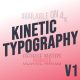Kinetic Typography - Physics Reinvented