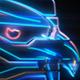 Colorful Futuristic Title or Logo Intro
