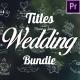 Wedding Titles Bundle