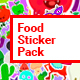 Food Sticker Pack/ Emoji/ Stories/ Restaurant/ Mask/ Snapchat/ App/ IGTV/ Tracking/ AE Face Tools