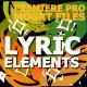 Flash FX Lyric Elements | Premiere Pro MOGRT