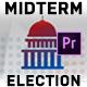 Midterm Election Elements - House & Senate | MOGRT for Premiere Pro