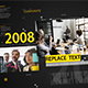 Corporate timeline slideshow
