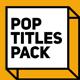 Pop Titles