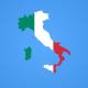 Italy Map Kit