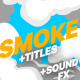 2DFX Smoke Elements And Titles