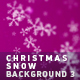 Christmas Snow Background 3