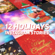 Holidays Instagram Stories Pack