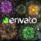 Fireworks/Celebrating Logo