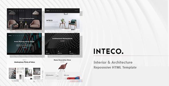 , Inteco – Interior & Architecture HTML Template, Laravel & VueJs