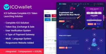 ICOWallet- ICO Script | Complete ICO Software and Token Launching Solution