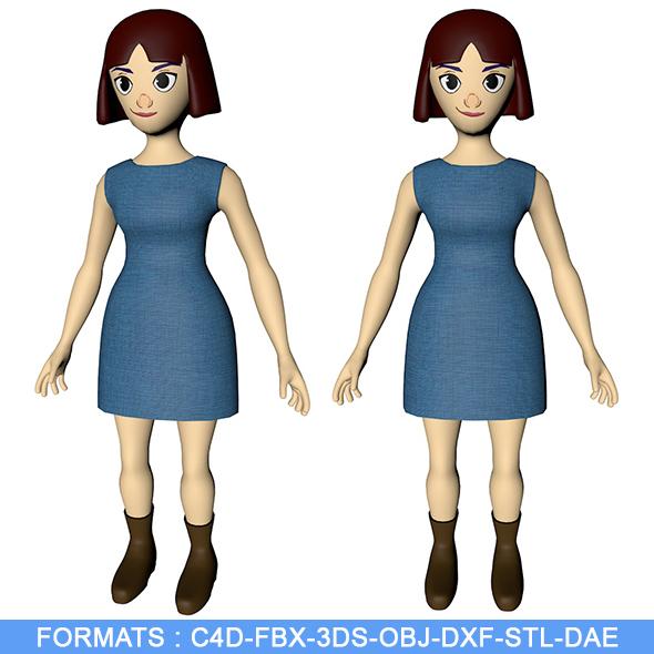 Girl Character