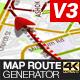 Map Route Generator