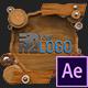 Wooden Logo (AfterFX)