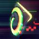 Glitch Neon Logo Reveal