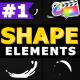 Cartoon Shape Elements | Final Cut Pro X