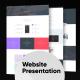 Minimal design Website Presentation