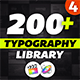 Essential Typography Library - Final Cut