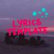 Lyrics Template   Hand Drawn Style