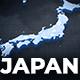 Japan Map Animation - Japanese Map Kit