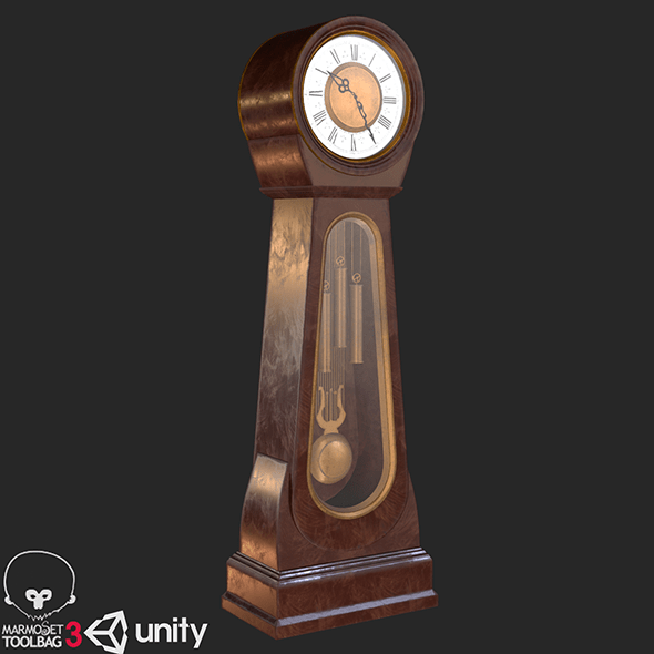 Classic Grandfather Clock PBR