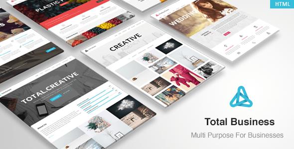 , Total – MultiPurpose Business HTML Template, Laravel & VueJs, Laravel & VueJs