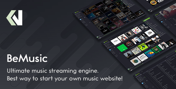 BeMusic - Track Streaming Engine - PHP Script Download 1