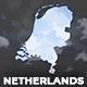 Netherlands Map Kit - Kingdom of the Netherlands Map