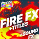 Flame Elements And Titles | FCPX
